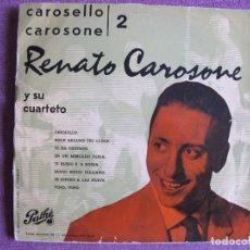 Discos de vinilo: 10 PULGADAS - RENATO CAROSONE - CAROSELLO CAROSONE 2 (SPAIN, DISCOS PATHE SIN FECHA). Lote 178961395