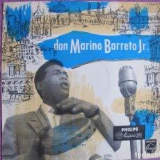 Discos de vinilo: 10 PULGADAS - DON MARINO BARRETO JR. - SAME (ITALY, PHILIPS SIN FECHA). Lote 178962691
