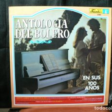 Discos de vinilo: ANTOLOGIA DEL BOLERO 3 LP'S. Lote 178963380