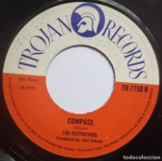 Discos de vinilo: NICKY THOMAS - LOVE OF THE COMMON / THE DESTROYERS - COMPASS - SINGL EUK 1970 - TROJAN. Lote 178964827