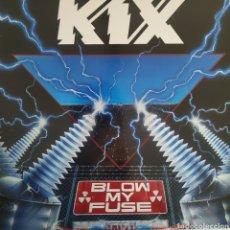 Discos de vinilo: KIX - BLOW MY FUSE - ATLANTIC - 7 81877-1 F - USA -1988. Lote 178967532