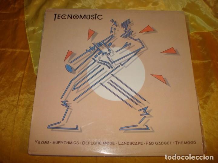 TECNOMUSIC : YAZOO, EURYTHMICS, THE MOOD...... RCA, 1982. IMPECABLE (#) (Música - Discos - LP Vinilo - Techno, Trance y House)