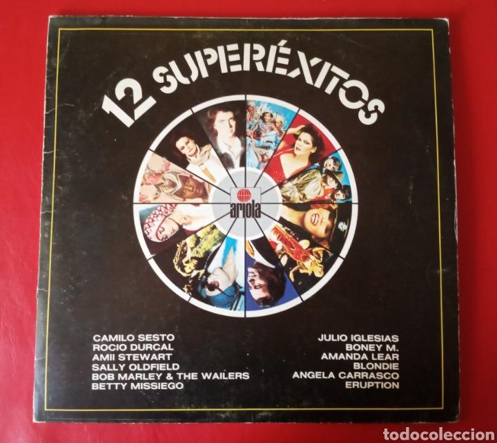 Discos de vinilo: Disco vinilo 12 Superexitos - Foto 2 - 178969603