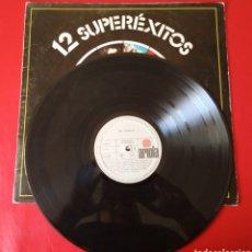 Discos de vinilo: DISCO VINILO 12 SUPEREXITOS. Lote 178969603