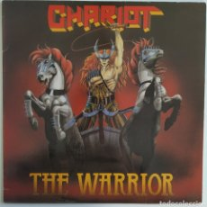 Discos de vinilo: CHARIOT - THE WARRIOR - MAUSOLEUM RECORDS - SKULL 8392 - BÉLGICA - 1984 - EX+. Lote 178973007
