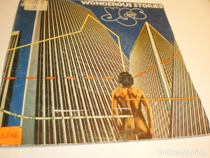 SINGLE YES. WONDEROUS STORIES. PARALLELS ATLANTIC 1978 SPAIN (PROBADO Y BIEN, BUEN ESTADO) (Música - Discos - Singles Vinilo - Pop - Rock - Extranjero de los 70)