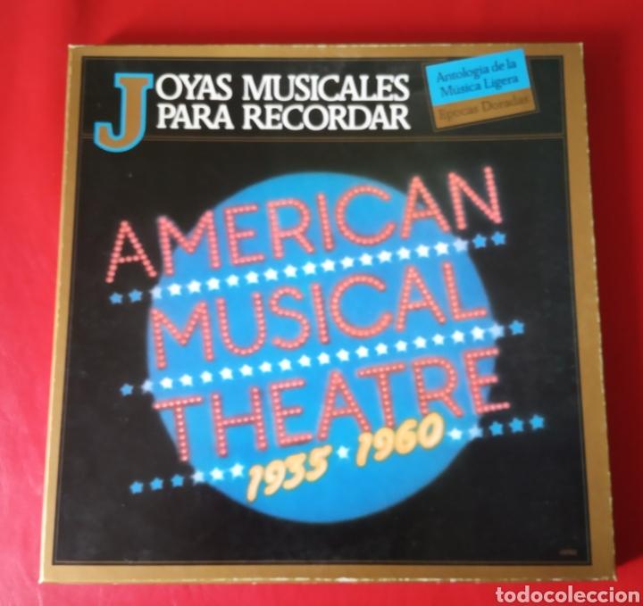 JOYAS MUSICALES PARA RECORDAR AMERICAN MUSICAL TEATRE (Música - Discos - LP Vinilo - Bandas Sonoras y Música de Actores )