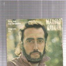Discos de vinilo: MANOLO GALVAN. Lote 194288715