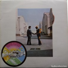 Discos de vinilo: PINK FLOYD: WISH YOU WERE HERE, HARVEST FRANCE 1975. Lote 178978295