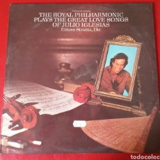 Discos de vinilo: THE ROYAL PHILHARMONIC PLAYS THE GREAT LOVE SONGS OF JULIO IGLESIAS. Lote 178979667