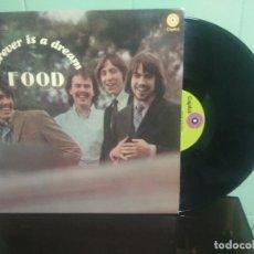Discos de vinilo: FOOD FOREVER IS A DREAM LP USA PEPETO TOP . Lote 178984188