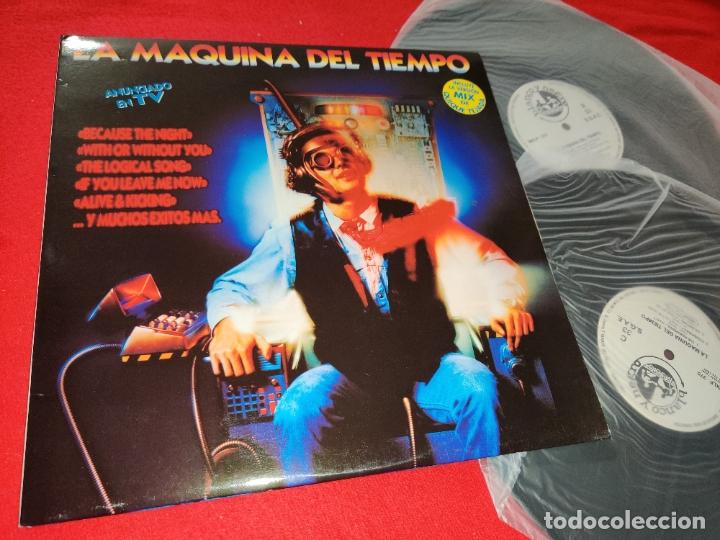 LA MAQUINA DEL TIEMPO 2LP 1993 BLANCO Y NEGRO GATEFOLD SPAIN ESPAÑA RECOPILATORIO CO.RO+DOUBLE YOU++ (Música - Discos - LP Vinilo - Disco y Dance)