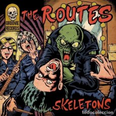 Discos de vinilo: THE ROUTES SKELETONS LP . GARAGE PUNK SIXTIES PSYCH SURF ROCK AND ROLL YARDBIRDS. Lote 178987288