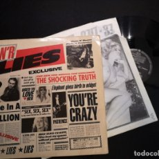 Discos de vinilo: GUNS N' ROSES ‎– G N' R LIES VINILO LP HARD ROCK ORIGINAL 1988 1 ED UK & EUROPE. Lote 178987797