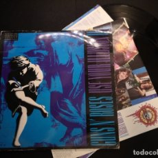 Discos de vinilo: GUNS N' ROSES ‎– USE YOUR ILLUSION II DOBLE VINILO LP . Lote 178987835