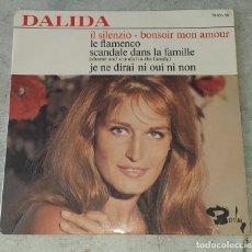 Discos de vinilo: DALIDA: LE FLAMENCO + 3 (BARCLAY ED. FRANCESA 1965). Lote 178993201