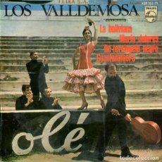 Discos de vinilo: LOS VALLDEMOSA / LA BOLIVIANA / DE TERCIOPELO NEGRO + 2 (EP 1967). Lote 178997321