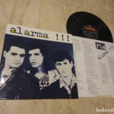 Discos de vinilo: ALARMA – ALARMA !!!-LP- MANOLO TENA-ORIGINAL PRIMER LP-MERCURY-1984-CONTIENE INSERT- NM / NM /. Lote 178998135