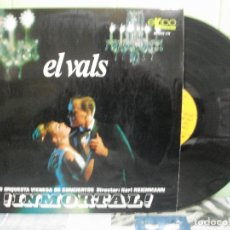 Discos de vinilo: EL VALS : INMORTAL (LP) GRAN ORQUESTA VIENESA DE CONCIERTOS AÑO 1966. Lote 178998150