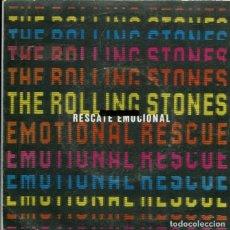 Discos de vinilo: THE ROLLING STONES / RESCATE EMOCIONAL (SINGLE 1980). Lote 178999580