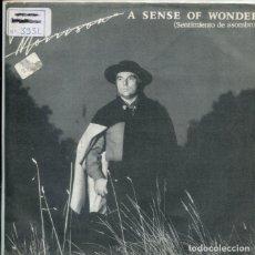 Discos de vinilo: VAN MORRISON / SENTIMIENTO DE ASOMBRO / HAUNTS AF ANCIENT PEACE (SINGLE 1985). Lote 179000211