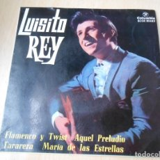 Discos de vinilo: LUISITO REY, EP, FLAMENCO Y TWIST + 3, AÑO 1964. Lote 179001183