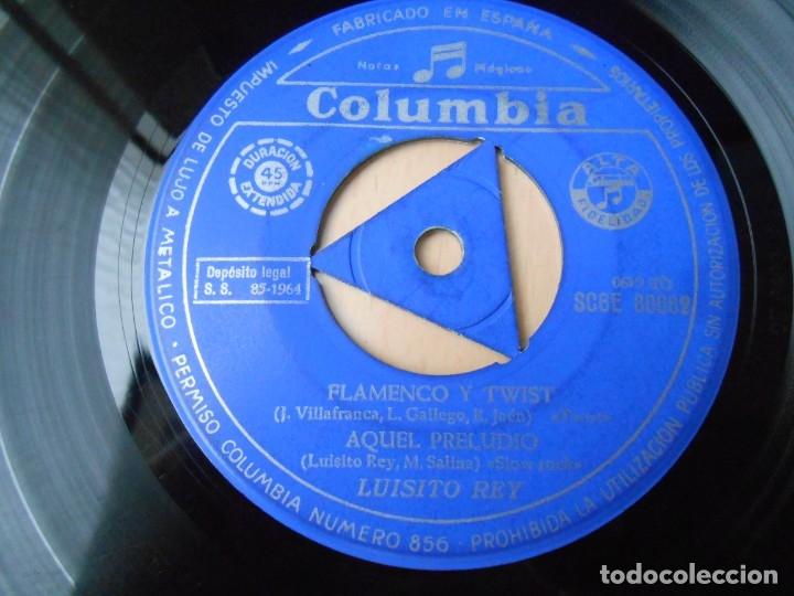Discos de vinilo: LUISITO REY, EP, FLAMENCO Y TWIST + 3, AÑO 1964 - Foto 3 - 179001183