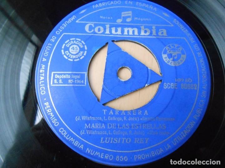 Discos de vinilo: LUISITO REY, EP, FLAMENCO Y TWIST + 3, AÑO 1964 - Foto 4 - 179001183