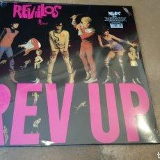 Discos de vinilo: THE REVILLOS - REV UP. LP VINILO PRECINTADO.. Lote 179001682