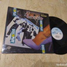 Discos de vinilo: BURNING - BULEVAR-LP- EDICION 1991-PERFIL- COMO NUEVO-AUN CON PLASTICO DE DISCOPLAY-. Lote 179002771