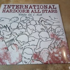 Discos de vinilo: INTERNATIONAL HARDCORE ALL STARS - VERDADERO HASTA LA MUERTE. LP VINILO PRECINTADO.. Lote 179002993