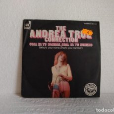 Discos de vinilo: THE ANDREA TRUE CONNECTION . Lote 179005123