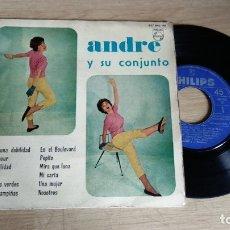 Discos de vinilo: EP-ANDRE Y SU CONJUNTO-1961-SPAIN-. Lote 179006168