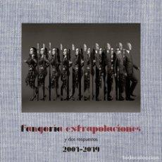 Discos de vinilo: FANGORIA - EXTRAPOLACIONES Y DOS RESPUESTAS 2001-2019 (CD + 2 LP-VINILO) ENVIÓ A ESPAÑA GRATIS . Lote 179006221