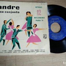 Discos de vinilo: EP-ANDRE Y SU CONJUNTO-1960-SPAIN-. Lote 179006273