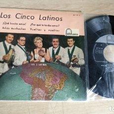 Discos de vinilo: EP-LOS CINCO LATINOS-1960-SPAIN-. Lote 179006670