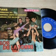 Discos de vinilo: EP-LOS DE LA TORRE-1966-SPAIN-. Lote 179006897