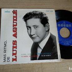 Discos de vinilo: EP-LUIS AGUILE-1964-SPAIN-. Lote 179007033