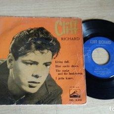 Discos de vinilo: EP-CLIFF RICHARD-1960-SPAIN-. Lote 179007236