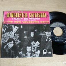 Discos de vinilo: EP-THE NEW VAUDEVILLE BAND-1966-SPAIN-. Lote 179007588