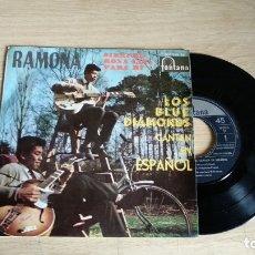 Discos de vinilo: EP-LOS BLUES DIAMONDS-1961-SPAIN-. Lote 179008252