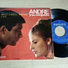 Discos de vinilo: EP-ANDRE Y SU CONJUNTO-1966-SPAIN-. Lote 179008648