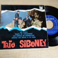 Discos de vinilo: EP-TRIO SIBONEY-1967-SPAIN-. Lote 179008772