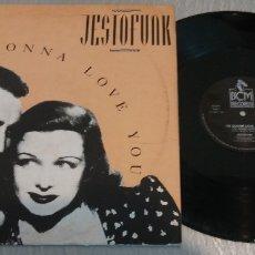Discos de vinilo: JESTOFUNK / I'M GONNA LOVE YOU / MAXI-SINGLE 12 INCH. Lote 179008895