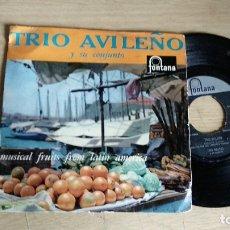 Discos de vinilo: EP-TRIO AVILEÑO Y SU CONJUNTO-HOLLAND-. Lote 179009761