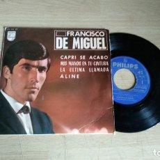 Discos de vinilo: EP-FRANCISCO DE MIGUEL-1963-SPAIN-. Lote 179009871