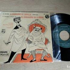 Discos de vinilo: EP-EL BARBERO DE SEVILLA-1958-SPAIN-. Lote 179010098