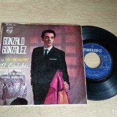 Discos de vinilo: EP-GONZALO GONZALES-1963-SPAIN-. Lote 179010218
