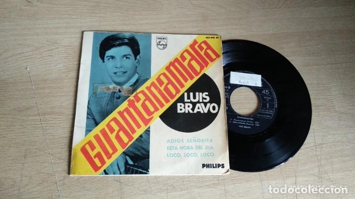 EP-LUIS BRAVO-1966-SPAIN- (Música - Discos de Vinilo - EPs - Grupos Españoles 50 y 60)