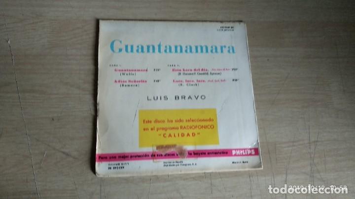 Discos de vinilo: EP-LUIS BRAVO-1966-SPAIN- - Foto 2 - 217533091